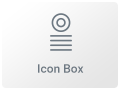 icon box widget