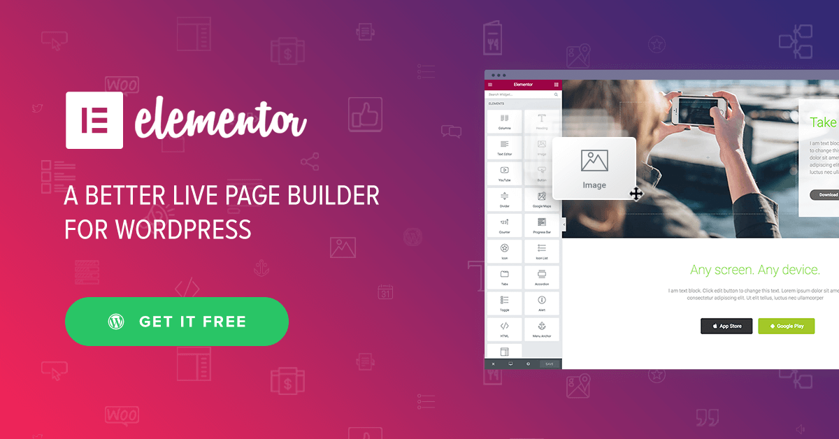 Elementor ★ Page Builder for WordPress