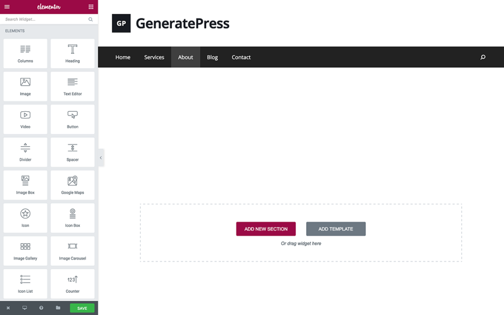 elementor-generatepress