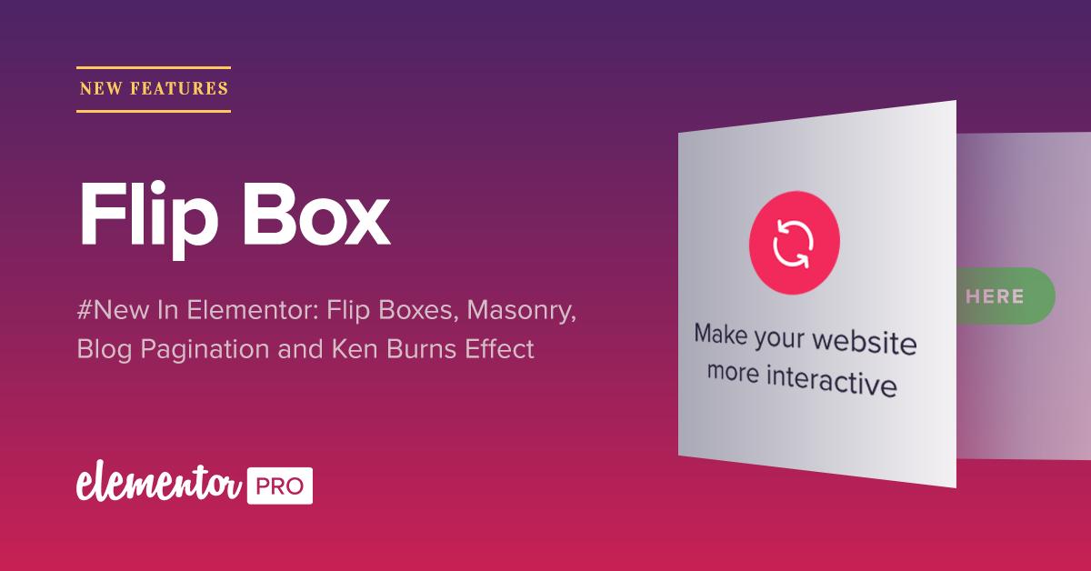Flip Box: An Interactive Flipping Box for WordPress