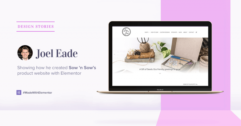 Design stories - Joul Eade