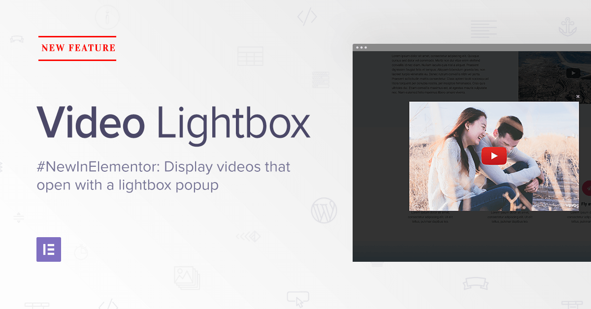 New Feature Add Video Lightbox To WordPress Without Coding