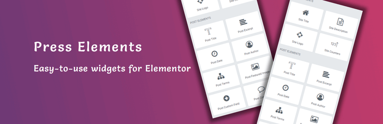 Add-ons for Elementor: Press Elements