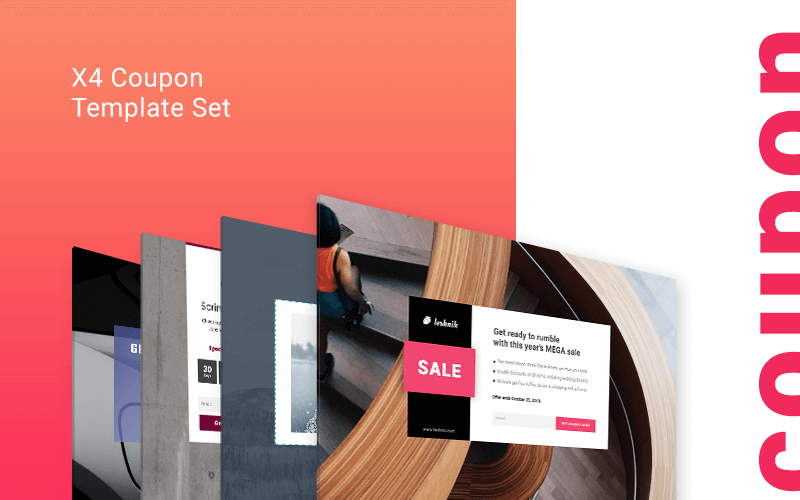 coupon Landing Page templates