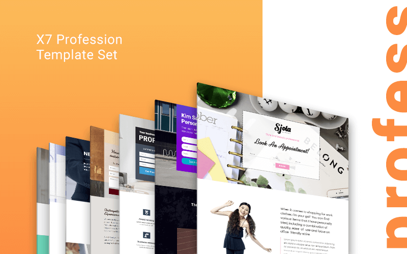 profession Landing Page templates