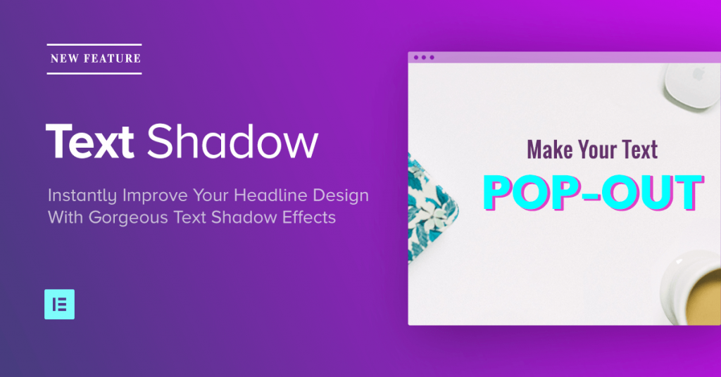 new feature text shadow effect including 7 examples