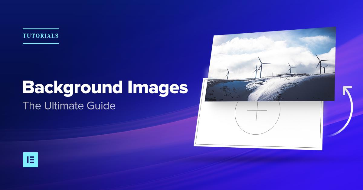 How To Design Website Background Images Using Elementor