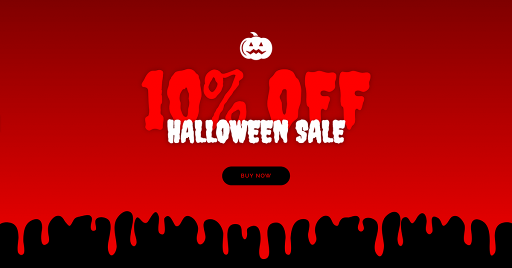 Halloween Sale CTA Example
