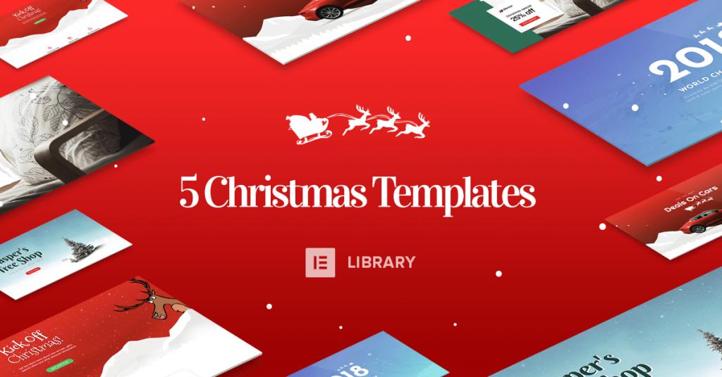 Christmas Page Templates