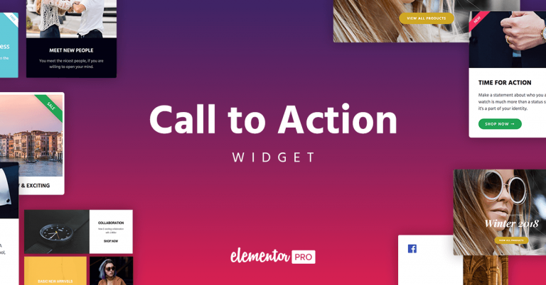 Call to Action Widget