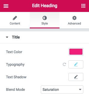 Introducing Filter Effects & Blend Modes - Elementor