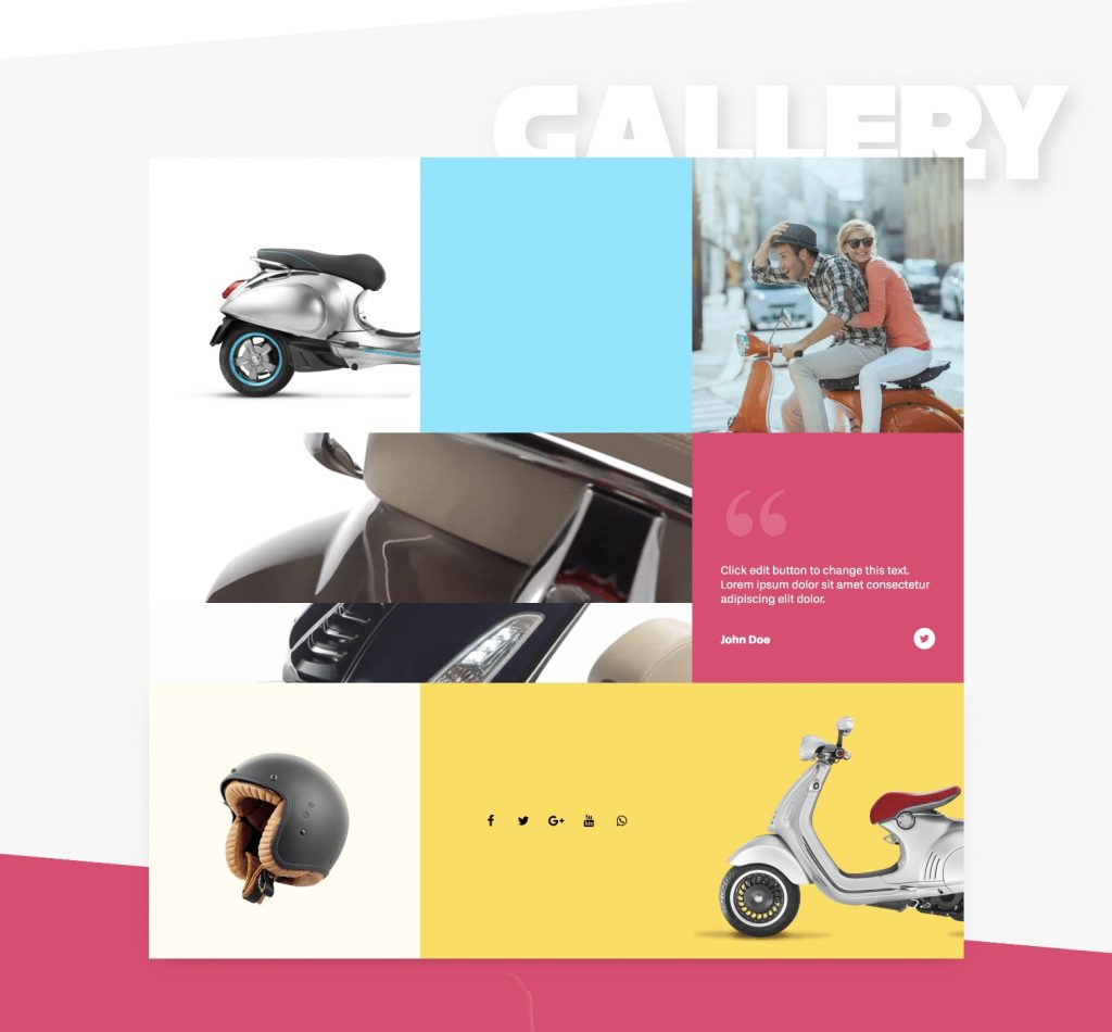 Landing Page Gallery