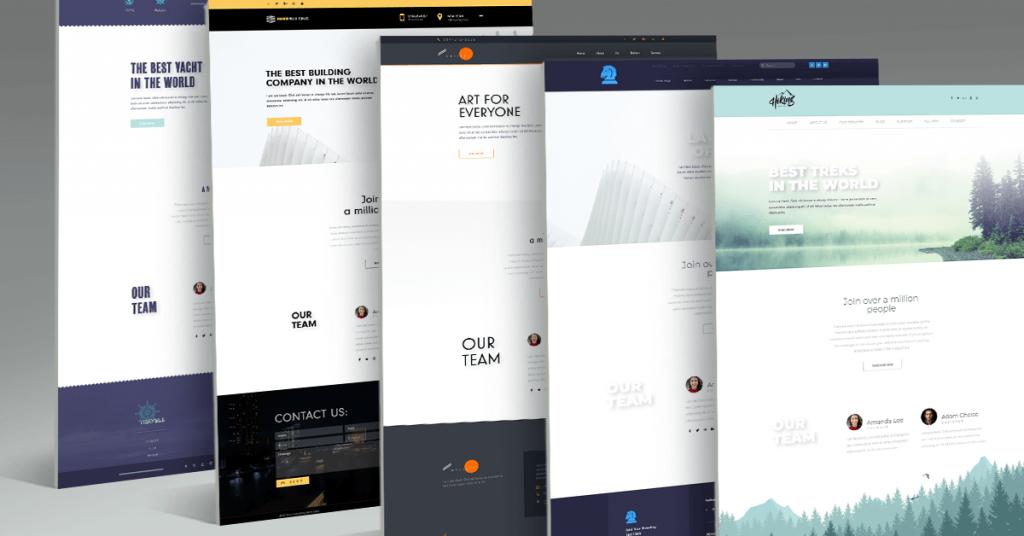 8ee3decc7b0 The New Way to Build Website Header & Footer [5 Inspiring Examples ...