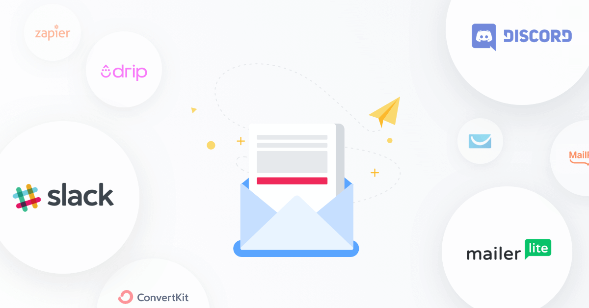 Introducing New Form Integrations: Slack, Discord & Mailerlite