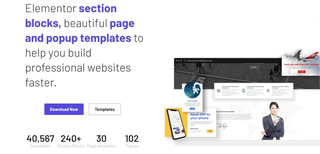 10 Best Free & Pro Elementor Template Resources - Elementor