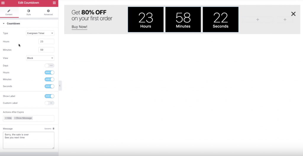 Sales Popups #1: How to Create a Countdown Timer Popup
