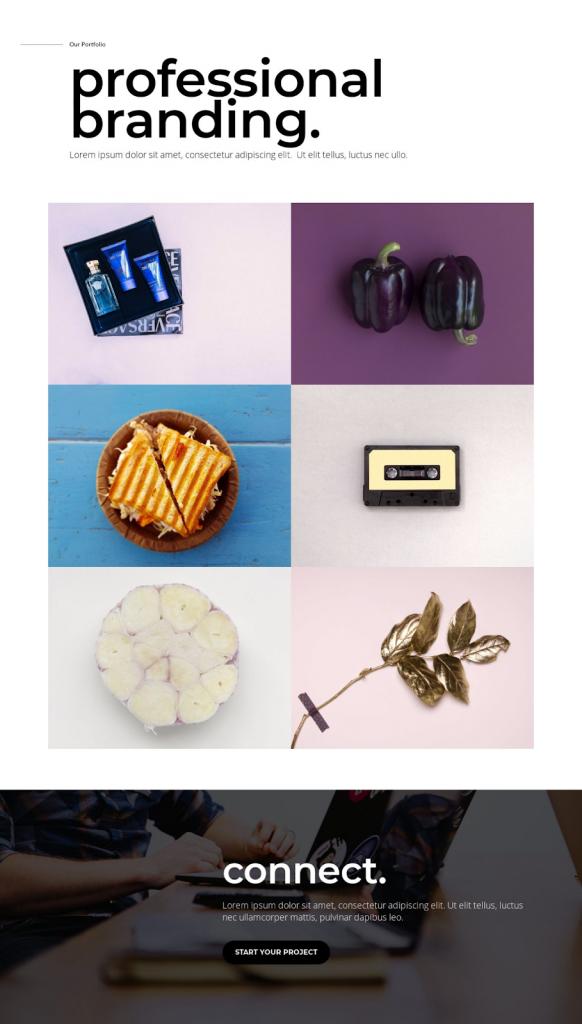 10 Inspiring Portfolio Templates for Elementor Designers