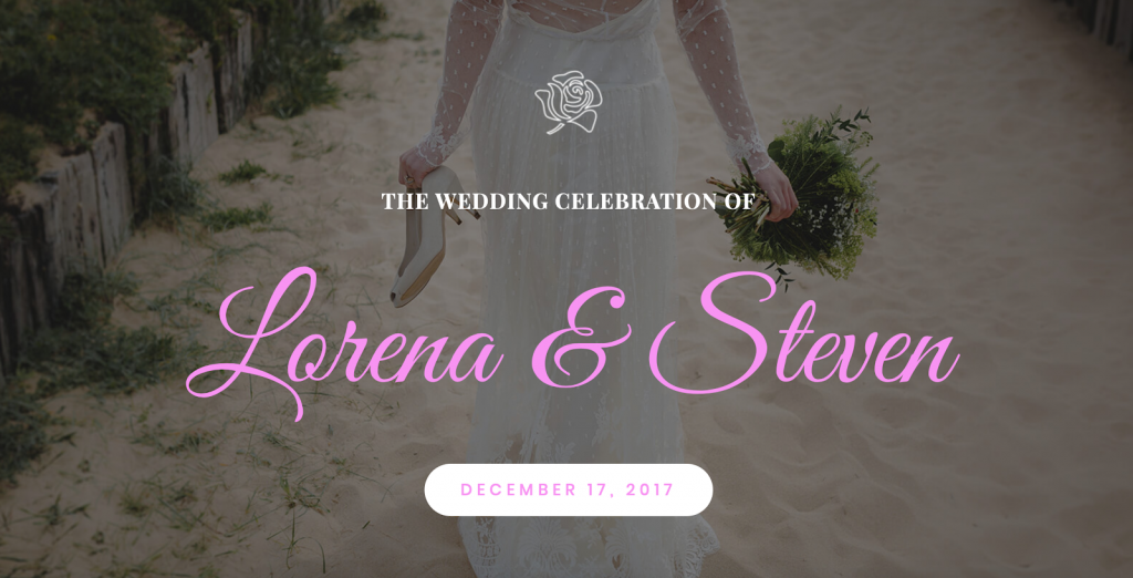 Elementor Wedding Template1