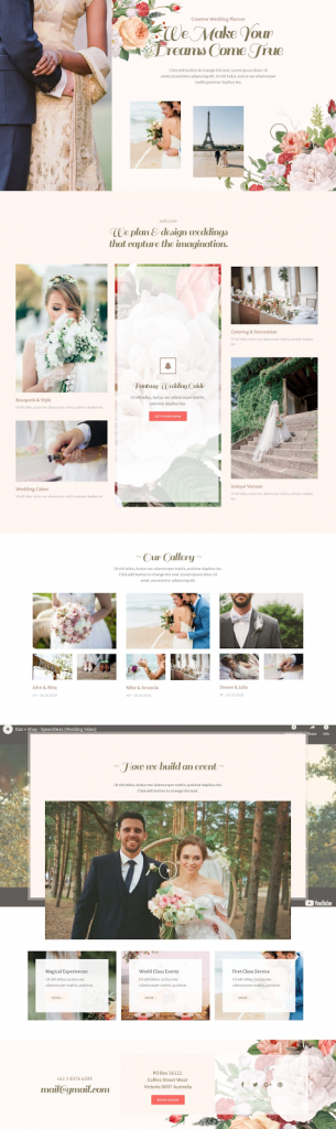 8. Wedding Planner Template
