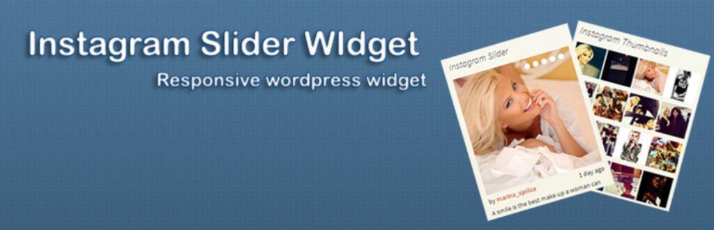 3. Instagram Slider Widget