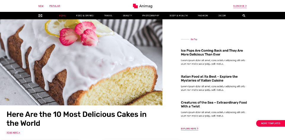 Two-Tier_ Menu_Magazine_Template_Elementor_WordPress_Monday_masterclass