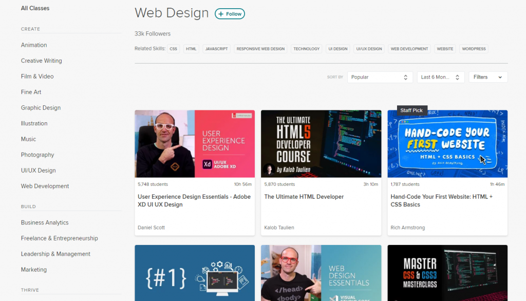 Best Online Courses For Web Design Elementor
