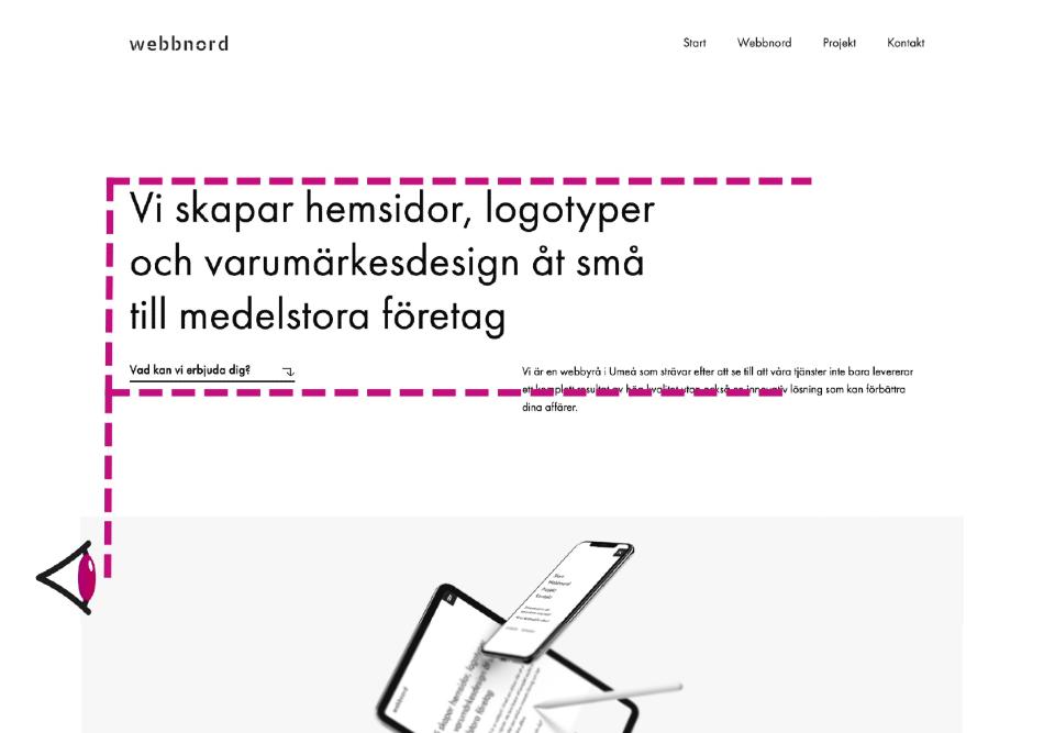 Nielson Group's F-Shape pattern elementor web design wordpress