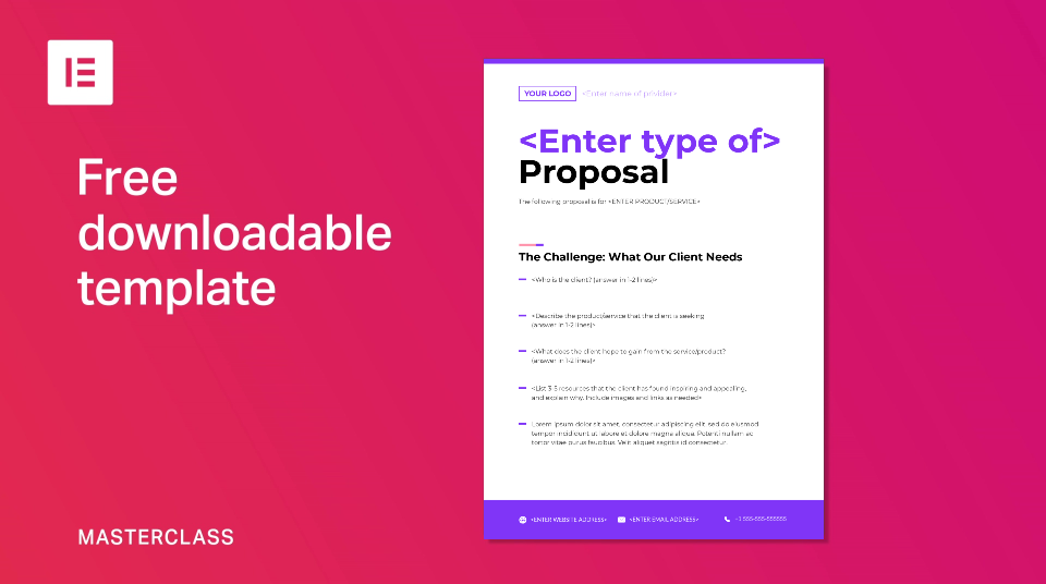 How To Write Great Web Design Proposals Elementor,Design Your Phone Case
