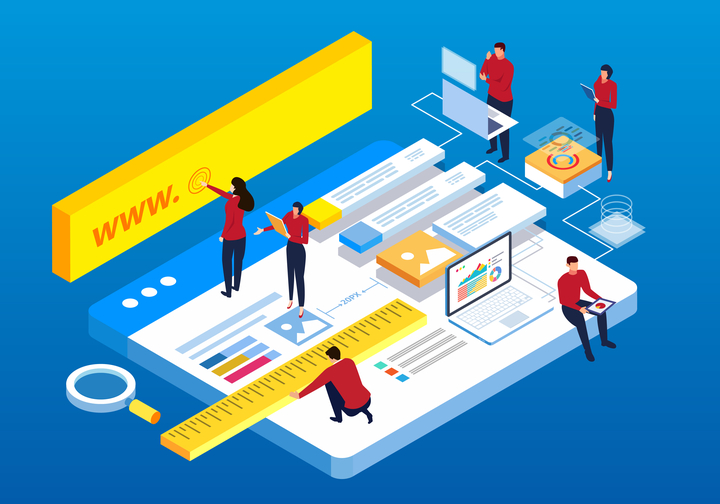 build your website img