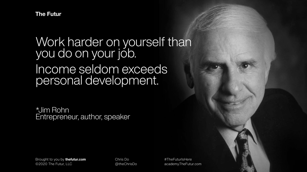 jim rohn work on yourself
