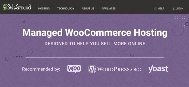 best woocommerce hosting 1 siteground