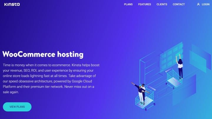 best woocommerce hosting 3 kinsta