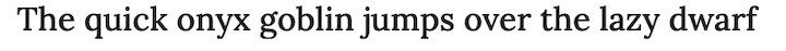 lora-font