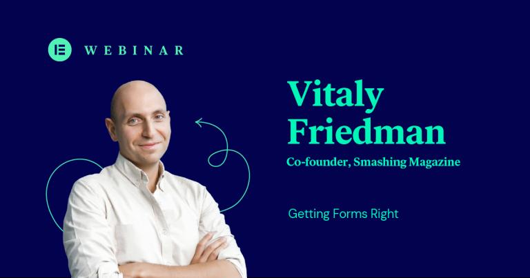 Vitaly Friedman blog cover