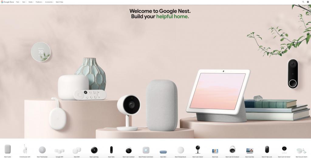 google home desktop site