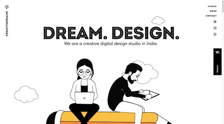 creative-dreams-flat-design-example