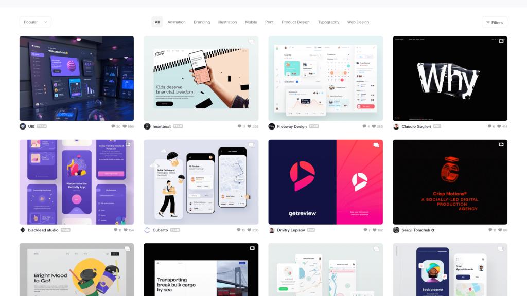 Ideas de diseño web: grandes lugares para buscar inspiración 4 Web design