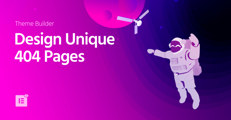 Create Your Beautiful 404 Page