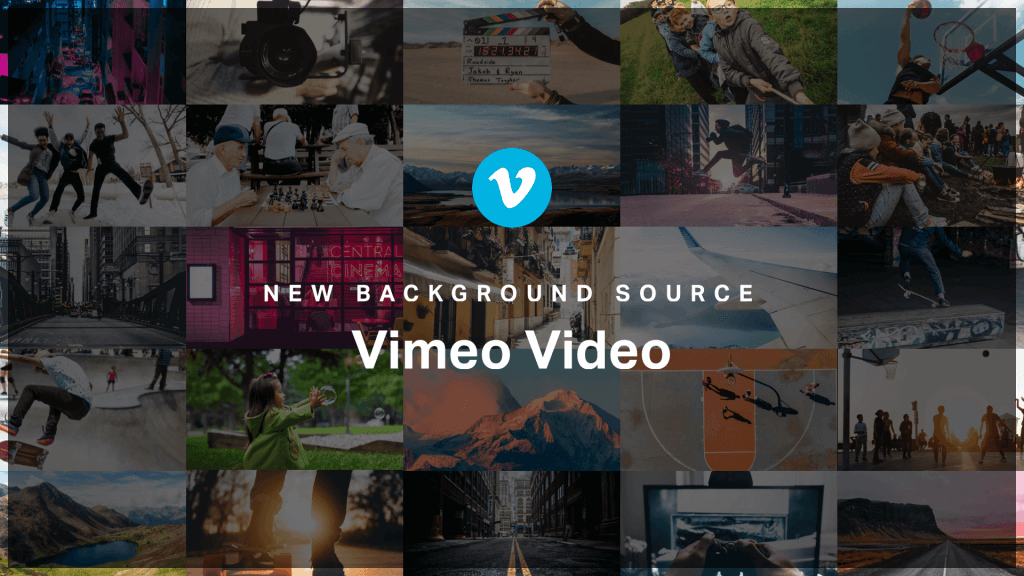Vimeo Video as a Background