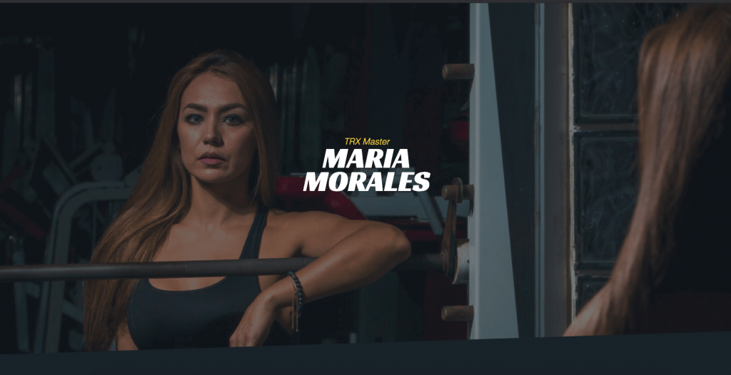 personal trainer template homepage