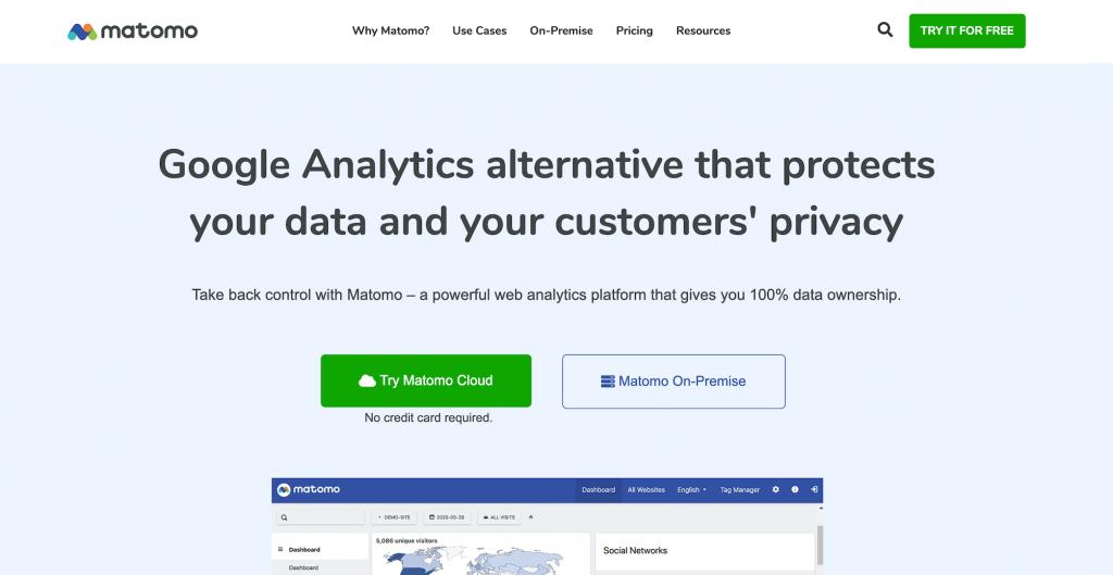 Matomo-web-analtyics