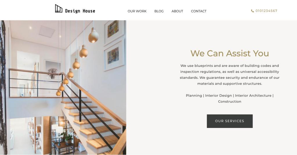 design house services