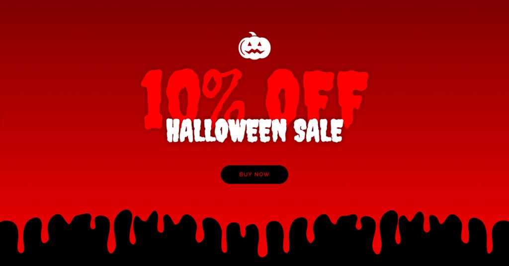 Halloween Sale CTA Example
