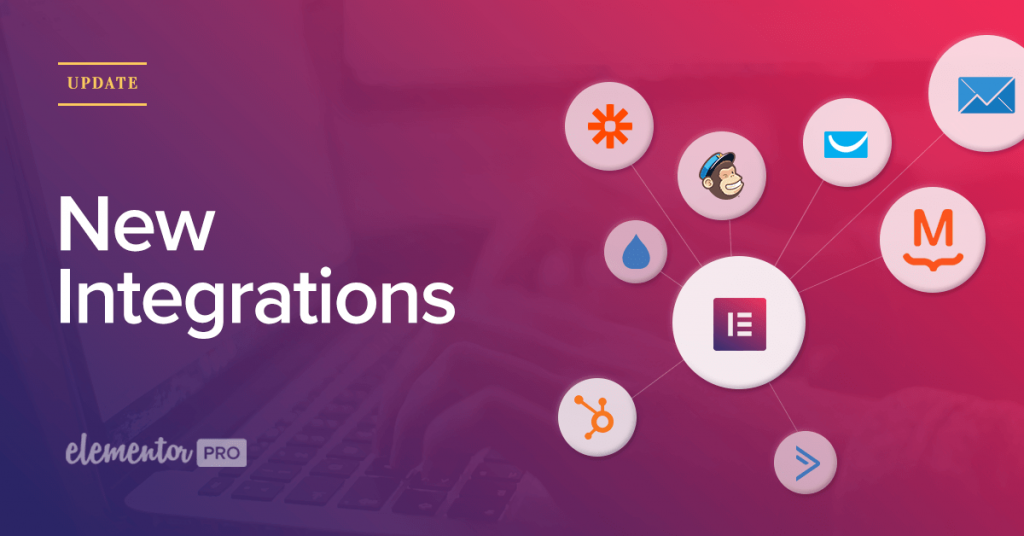 New Integrations ConvertKit, Active Campaign, Drip, GetResponse, Hubspot, MailPoet , MailChimp & Zapier