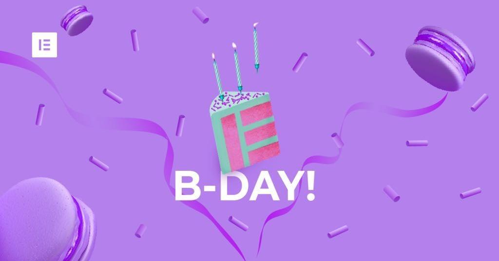 Elementor Birthday