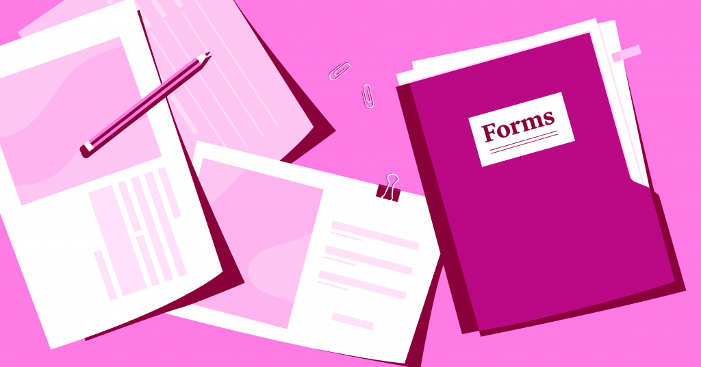 web form examples elementor