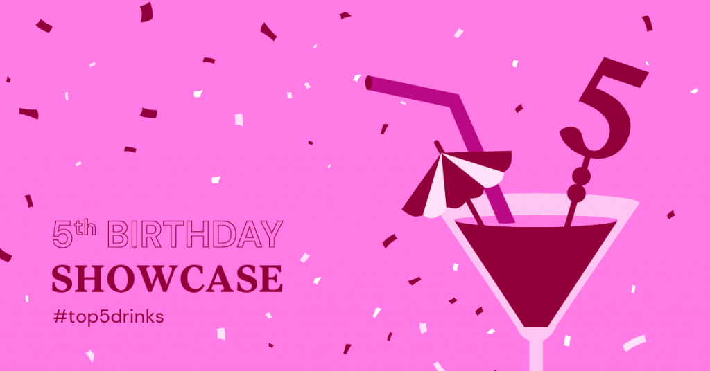 elementor 5th birthday top 5 drink sites