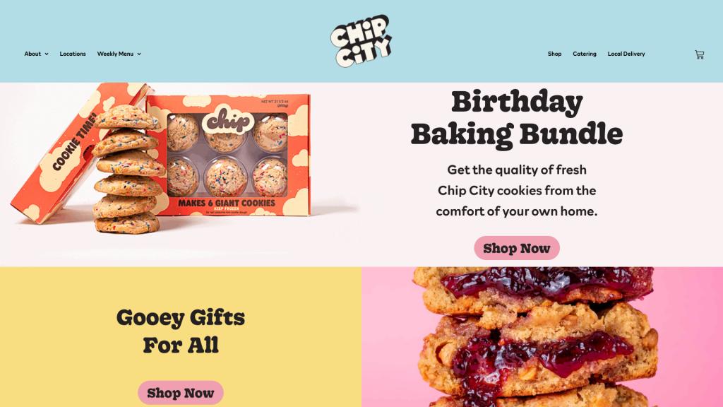 chip city elementor showcase