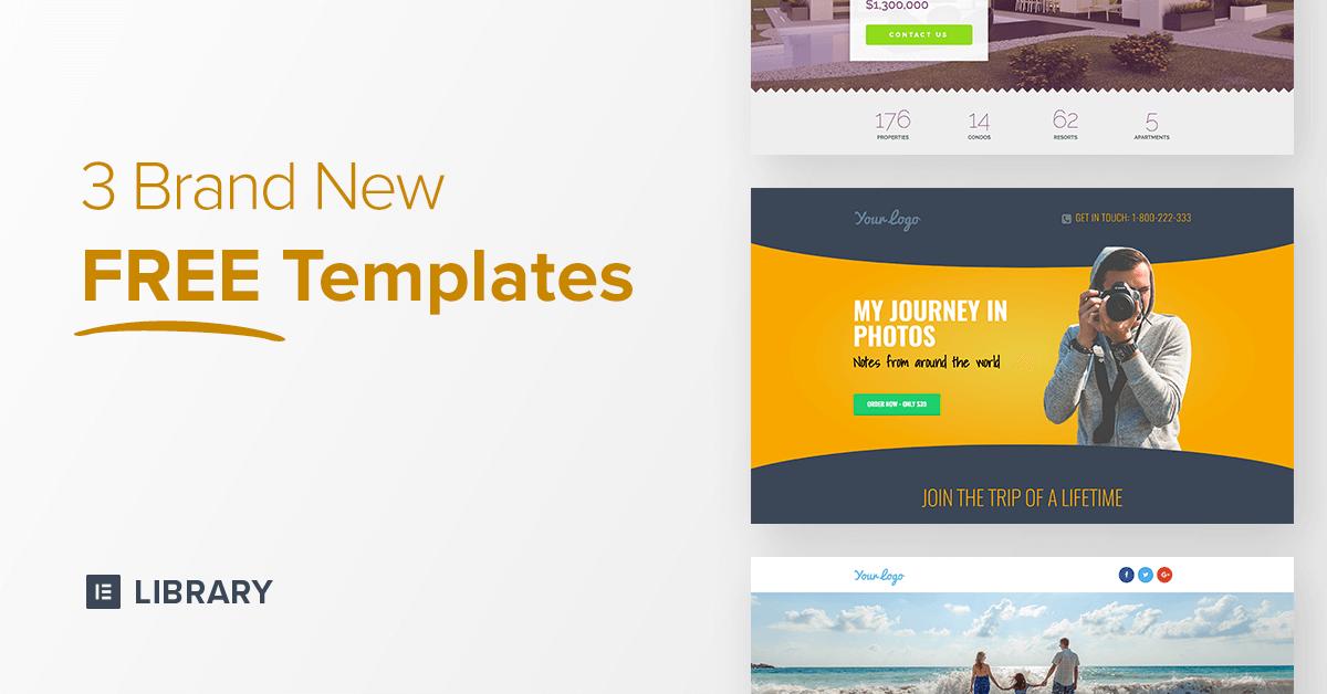 3 free templates