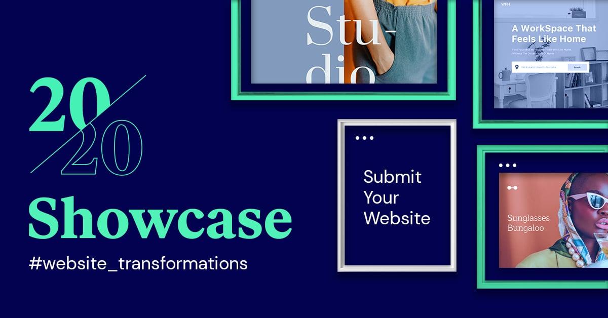 elementor 2020 end of year showcase